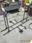 welding outrigger bases